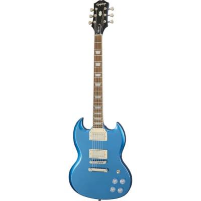 Epiphone SG Muse Radio Blue Metallic Electric Guitar for sale