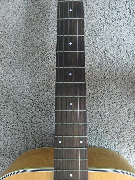 vintage 1970s ibanez acoustic guitar pf40 fuax birdseye maple reverb. Black Bedroom Furniture Sets. Home Design Ideas