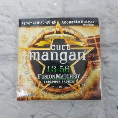 Curt Mangan 31356 Acoustic Medium 13-56 Strings