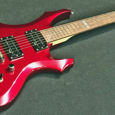 LTD F-50 Electric Guitar Metallic Red Professionally Set Up! for sale