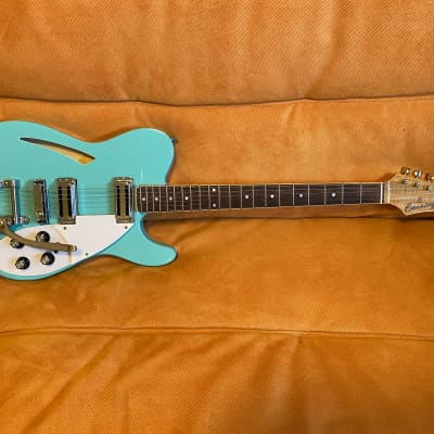 Banning Guitars Heartbreaker 2015 Sea Foam Green for sale