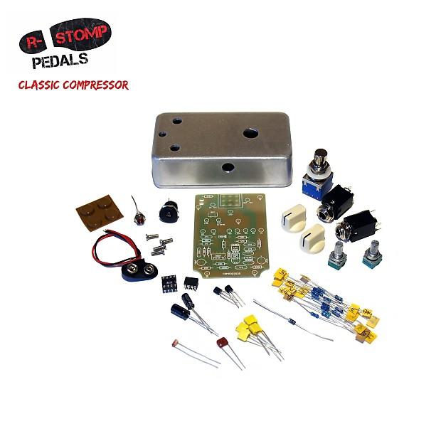 r stomp diy classic compressor guitar pedal kit reverb. Black Bedroom Furniture Sets. Home Design Ideas