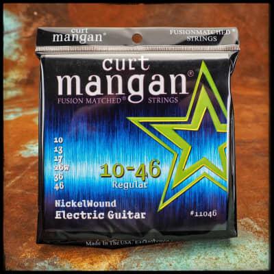 Curt Mangan Nickelwound Electric Guitar 10-46