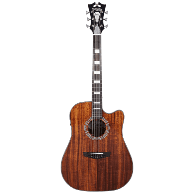 D'Angelico Premier Bowery Koa Natural