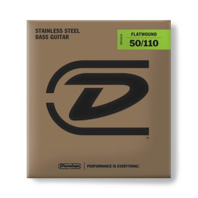 Dunlop Bass Flatwound Long Scale 50/110 4/Set Dbfs50110