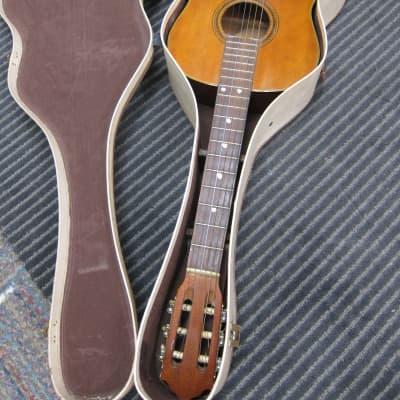 Vintage Kingston G 48 Classical Guitar Cool Vintage USA Case, Hardwoods, Needs Strings, A few Nicks, for sale