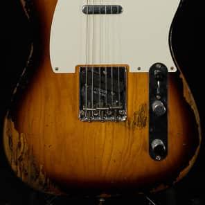 "Used Fender Custom Dealer Select Wildwood ""10"" '55 Telecaster Heavy Relic"
