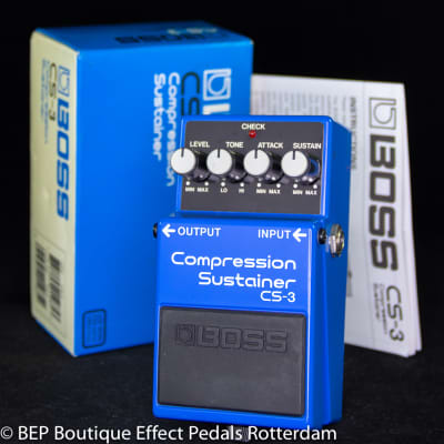 Boss CS-3 Compression Sustainer 1989 s/n Z995185