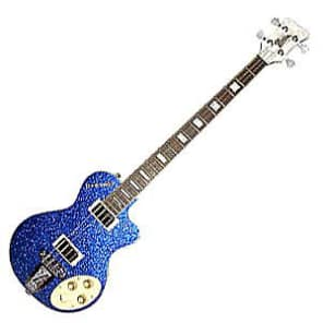 Italia Maranello 4-String Electric Bass Guitar - Blue