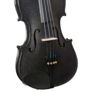 Bellafina BVI15012OFBK Rainbow Series 1/2 Violin Outfit