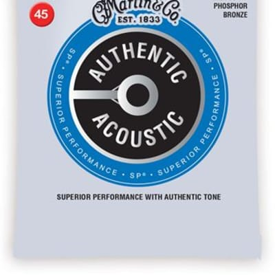 Martin MA4800 Authentic Acoustic Phosphor Bronze Acoustic Bass Strings