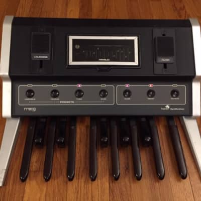 1976 Moog Taurus with ATA Case - Recently Serviced & Tested