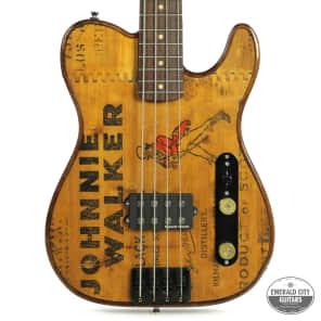 "Walla Walla Maverick Bass Vintage Wood ""J Whiskey"" for sale"