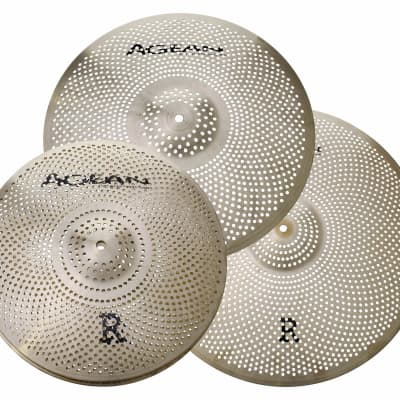 Aegean Music AGEAN R SERIES (Low Volume) CYMBALS PACK BOX SET (14HH/16CR/20R) 2021 Finished