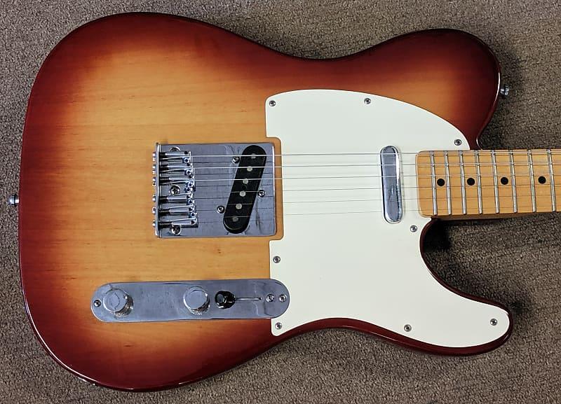 1983 Fender Telecaster Standard Rare Sienna Sunburst