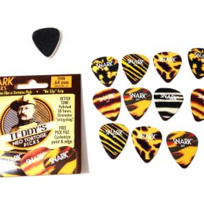 Snark 64NT Teddy's Neo Tortoise Thin .64mm Guitar Picks (12-Pack)