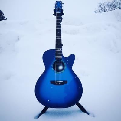 RainSong Guitars WS1000n2M Marine Burst for sale