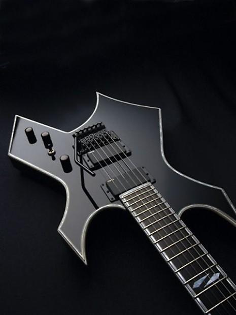 bc rich warlock nj deluxe onyx black electric guitar reverb. Black Bedroom Furniture Sets. Home Design Ideas