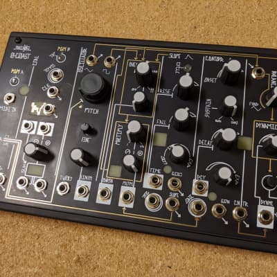 Make Noise 0-Coast Semi-Modular Desktop Synthesizer