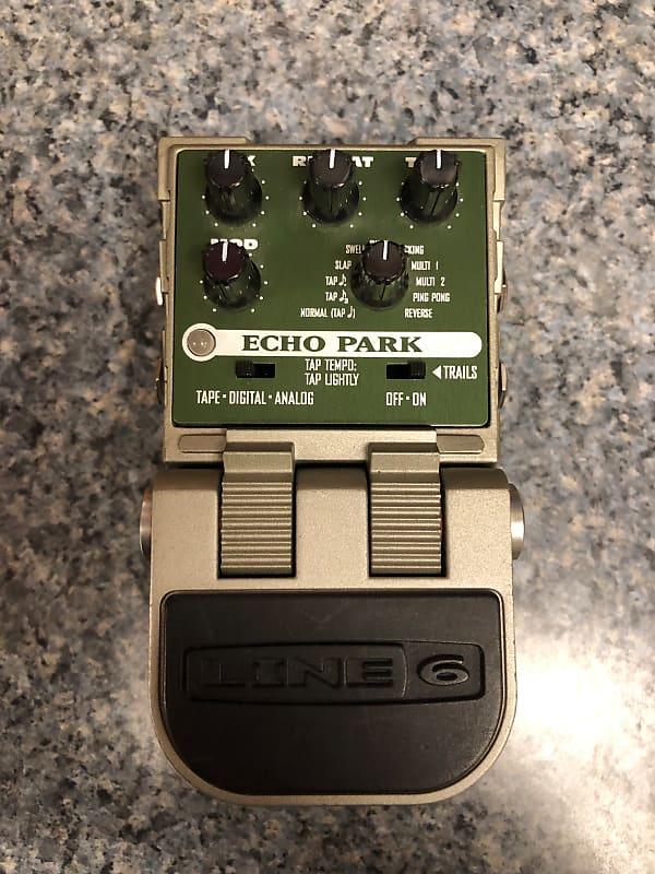 line 6 tonecore echo park delay pedal link 39 s music reverb. Black Bedroom Furniture Sets. Home Design Ideas