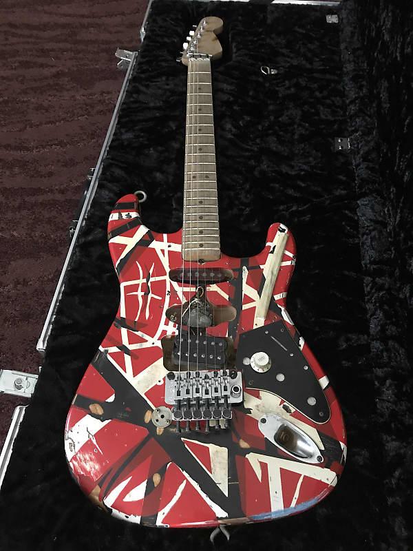 eddie van halen frankenstein replica electric guitar only reverb. Black Bedroom Furniture Sets. Home Design Ideas