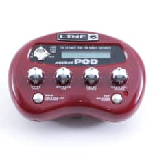 Line 6 Pocket Pod Guitar Multi-Effects Pedal P-05457