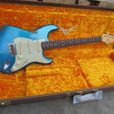 Fender Stratocaster 2017 Custom Shop 60's Journeyman Relic Blue Sparkle Closet NOS for sale