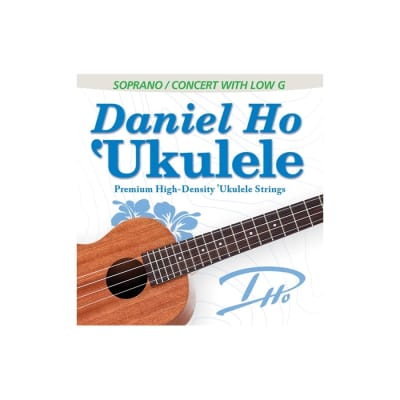 Daniel Ho DHC80111 'Ukulele Premium High-Density Soprano/Concert with Low G Ukulele Strings