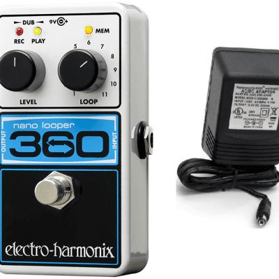 New Electro-Harmonix EHX Nano Looper 360 Guitar Pedal