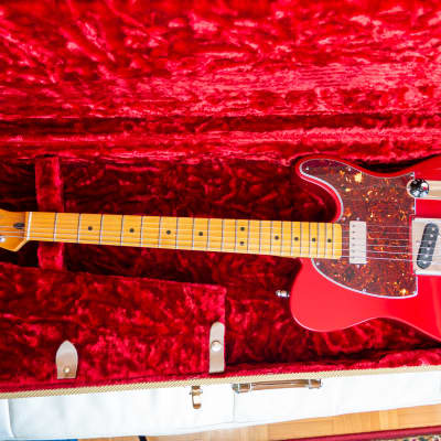 Fender James Burton Standard Telecaster 1998 Candy Apple Red (G&G case, DiMarzio, Gibson) for sale