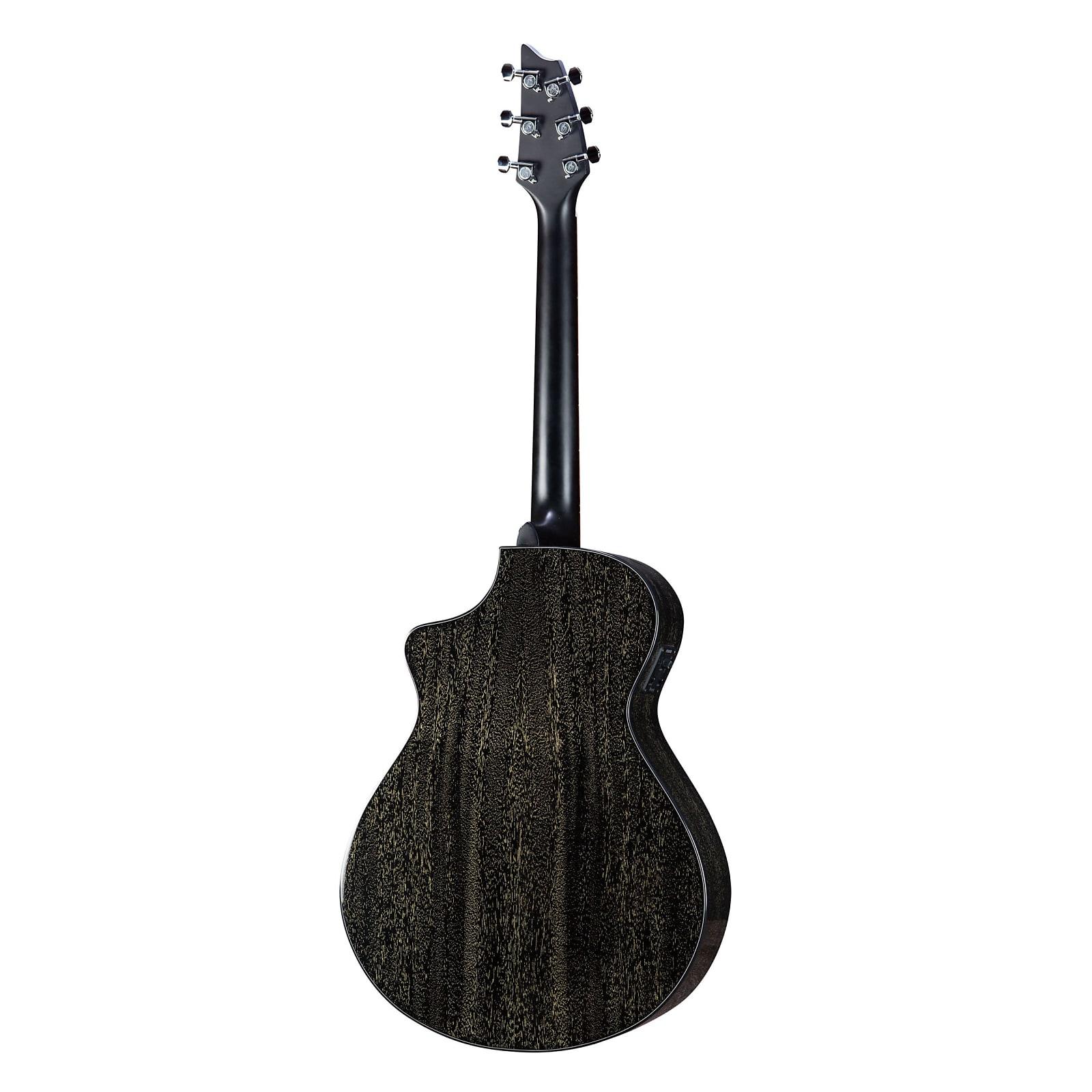 Breedlove Rainforest S Concert Black Gold CE Acoustic/Electric Guitar