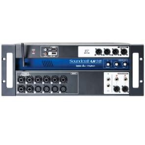 Soundcraft Ui-16 Rackmount 16-Channel Digital Mixer w/ WiFi Router