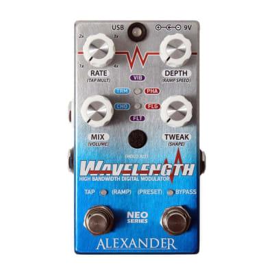 Alexander Pedals Wavelength Digital Modulator Pedal