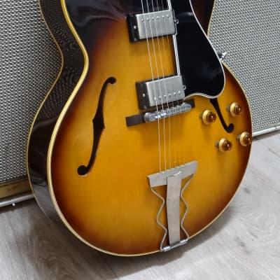 Gibson ES-175 1961 Vintage Sunburst Vintage Guitar for sale