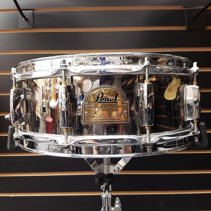 Chad Smith Signature Snare : pearl 14 x 5 chad smith signature snare chrome reverb ~ Hamham.info Haus und Dekorationen