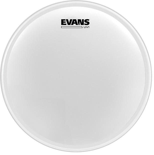 evans 24 uv1 coated bass drum head reverb. Black Bedroom Furniture Sets. Home Design Ideas