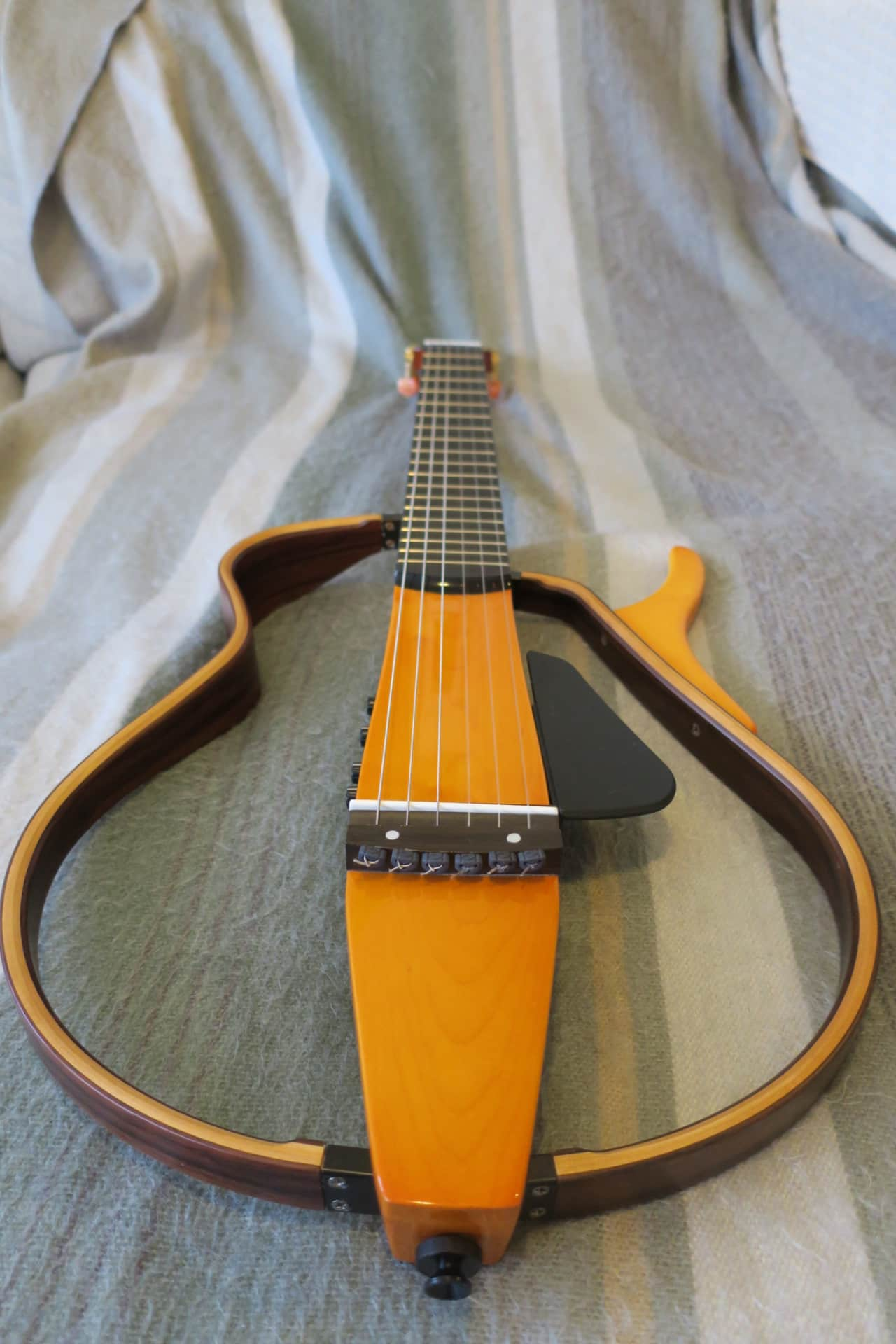Yamaha slg130nw silent classical nylon string guitar reverb for Yamaha silent guitar slg130nw