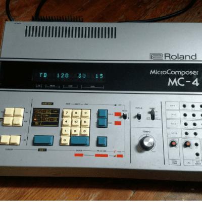 Roland MC-4, MC4a, Vintage CV Sequencer