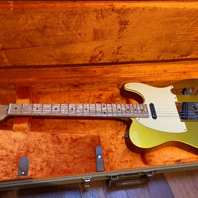 Fender Custom Shop Danny Gatton Telecaster 2013 Frost Gold (free shipping to UE!) for sale