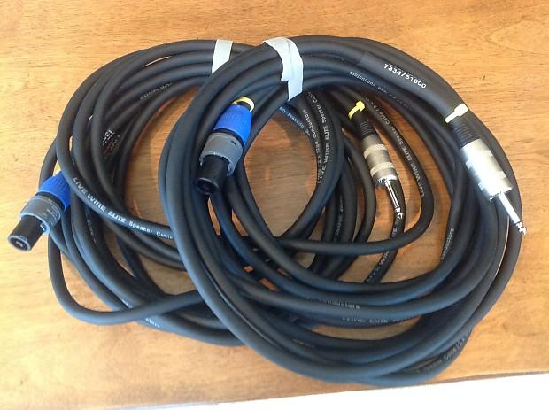 2) Livewire Elite Speaker Cable 25ft 12G | Reverb