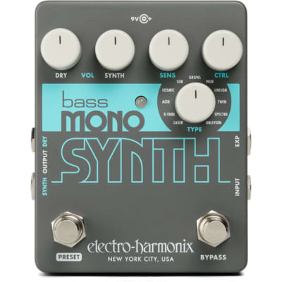 Electro Harmonix Bass Mono Synth Pedal for sale