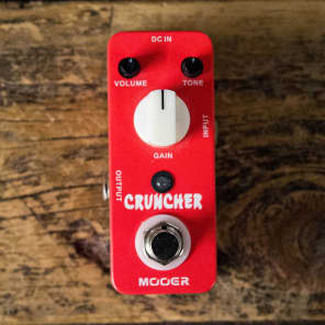 Mooer Cruncher Distortion