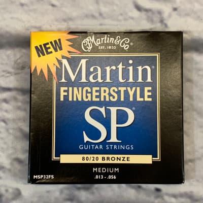 Martin Fingerstyle SP 80/20 Bronze Medium 13-56 Acoustic Guitar Strings