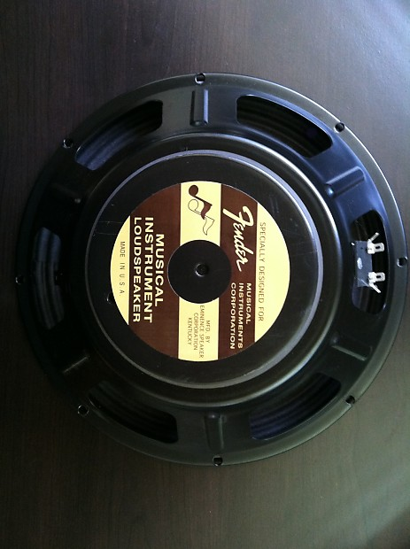 """Deluxe Auto Parts >> Eminence USA Fender Blues Deluxe 12"""" Speaker 