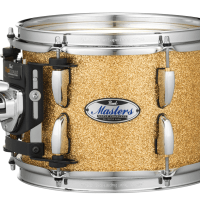 Pearl Masters Maple Complete Tom 12x9 Bombay Gold Sparkle Lacquer