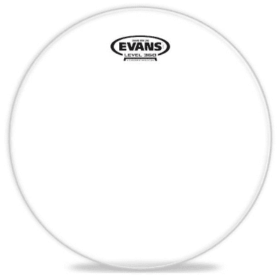 Evans S12H20 Clear 200 Snare Side Drum Head - 12""