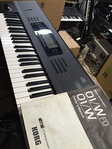 Korg O1W/FD workstation synth | TapeSmith
