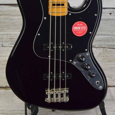 Squier Classic Vibe 70s Jazz Bass - Black