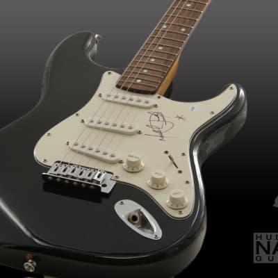 Michael Jackson Autographed Authentic Fender Squier Stratocaster - Black- COA Included
