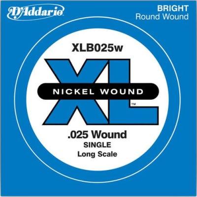 D'Addario XLB025W Bass Single